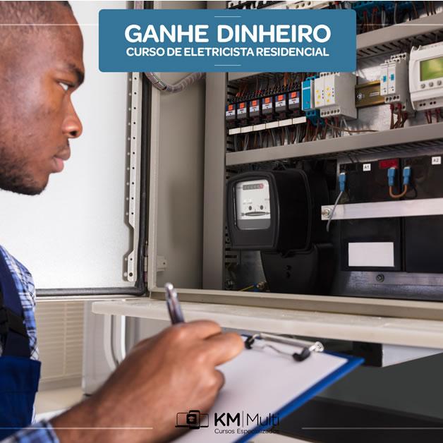 Curso Eletricista Residencial   Aprenda uma nova profissão (11) 4367-4320